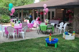 ideas for backyard party home design