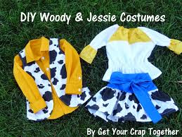 toy story halloween costumes toddler get your crap together diy woody u0026 jessie costumes 31 day of