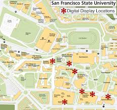 Map Of Chinatown San Francisco by San Francisco State Campus Map Michigan Map