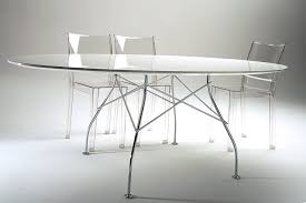 kartell glossy dining table glossy laminated table by antonio citterio with oliver low for