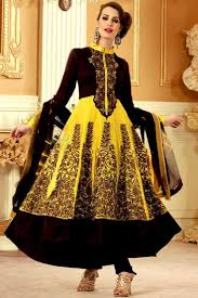 resham embroidery in jaal work makes indian clothing charming