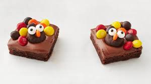 easy turkey brownies recipe bettycrocker