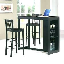 bar style dining table pub style dining table with 8 chairs black gathering collection by