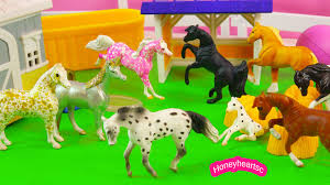 minnie whinnies happy new year mini fans breyer mini whinnies party count
