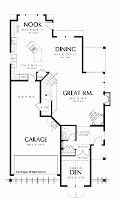 house blueprints maker house plans for long narrow lots lot with sidege diy home unique