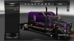 new kenworth price purple kenworth w900b long engine sound ets2 mods