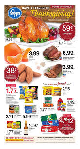 kroger weekly ad thanksgiving november 15 23 2017