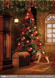 christmas backdrops fab vinyl christmas tree backdrop