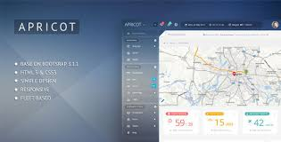 apricot navigation admin dashboard template themelock com free