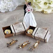 Suitcase Favors by 10x Suitcase Favor Boxes Destination Wedding Favor Boxesdiy