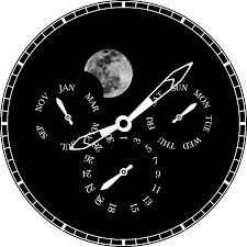 Weird Wall Clocks by Moon Phase Watch Android Apps On Google Play