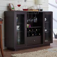 kitchen sideboard storage buffet cabinet dining room wine rack
