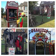 halloween zombie ticket booth u0026 scary funhouse love all this