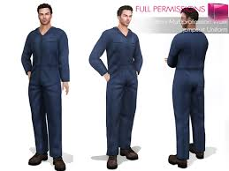 blue jumpsuit mens second marketplace perm mi s multiprofession work