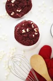 red velvet white chocolate chip cookies u2014 hello honey