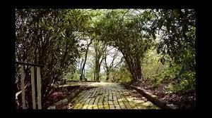 the land of oz theme park yellow brick road youtube