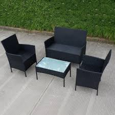 patio furniture amazon com tangkula pcs outdoor rattanio