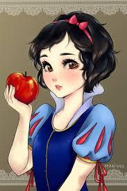 snow white by mari945 on deviantart