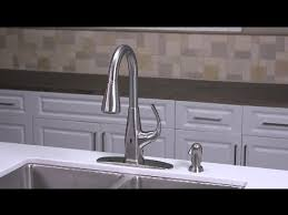 Touch Free Faucet Kitchen Installing A Touch Free Selia Pull Out Kitchen Faucet Youtube