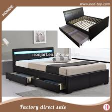 Wooden Double Bed Designs For Homes With Storage Double Bed Designs In Wood With Box