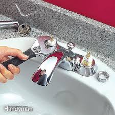 leaky kitchen faucet repair bathroom sink faucet fixing a bathroom faucet
