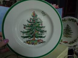 spode tree dinner plate set of 4