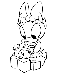 spring coloring pages plants coloring page 13 baby daisy duck