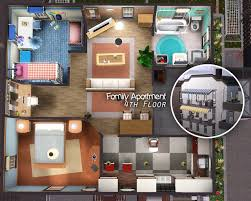mod the sims city life apartments
