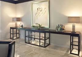 buffet table with fireplace long buffet dining room transitional with built in cabinets bar