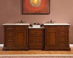 silkroad 60 inch travertine top bathroom vanity u2013 chuckscorner
