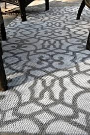 stenciled outdoor rug east coast creative blog