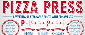 brand new new custom type family for domino s pizza by monotype