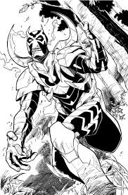 blue beetle coloring pages funycoloring