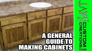 Tools Needed To Build Cabinets A General Guide To Building Cabinets Jays Custom Creations