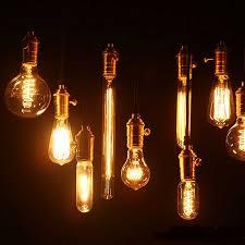 Light Bulb Ceiling Light Retro Edison Light Bulb Vintage Incandescent Bulb Edison L E27