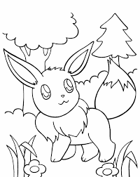 pokemon coloring pages eevee image coloring pokemon coloring pages