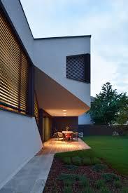 Cantilever Home by Elastik Hikikomori U0027s Mezzanine House In Ljubljana Uses A