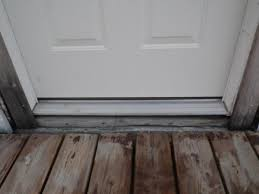 Door Thresholds For Exterior Doors Installing Exterior Door Sill Extender Door Designs Plans Door