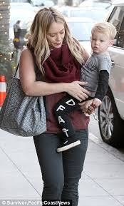 hilary duff u0027s son luca enjoys the royal treatment as he gets