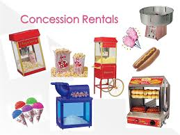 popcorn rental machine concessions king s time san diego party rentals