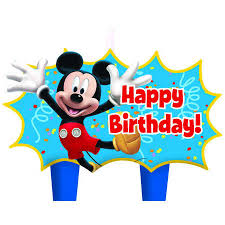 mickey mouse birthday mickey mouse birthday candle set big w