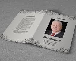 funeral program paper printable funeral program template memorial program