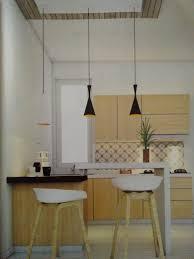 Kitchen Set Minimalis Hitam Putih Minibar Beda Elevasi Desain Interior Kitchen Set Dan Mebeler