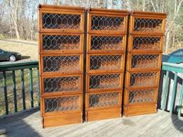 Metal Lawyers Bookcase Sold The Best Hale Mfg Rare 3 4 Size Wall Unit 15 Section 5 Stack