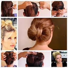 different hairstyles in buns wonderful super easy bow bun for short hair style
