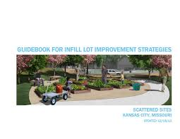 infill lot guidebook for infill lot improvement strategies by draw