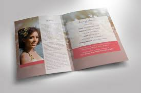 Images Of Funeral Programs Modern Funeral Program Photoshop Templa Design Bundles