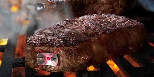 thermometre sonde cuisine la sonde de cuisson sans fil steak ch est un thermomètre à viande