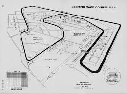 Map Of Sebring Florida by Sebring Programme Covers Page 3 Racing Sports Cars