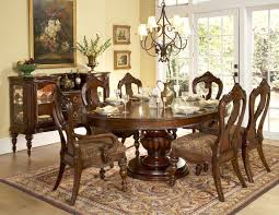 Big Round Formal Dining Room Tables Worcester Oval To Round - Dining room sets round